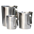 64-Ounce Stainless Steel Frothing Pitcher for Espresso Machine, Milk Frother, Latte Art