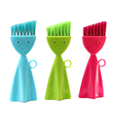 Smile Face Mini Corners and Edges Brush for Kitchen and Window