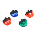 Blank Apple Shape Magnetic Clip for Memo, 2 3/4