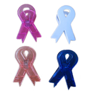 Blank Awareness Ribbon Magnetic Memo Clip, 3