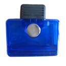 Blank Square Shaped Magnetic Memo Clip, 2 3/4
