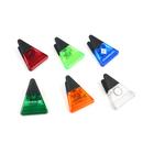Custom Triangle-Shaped Magnetic Memo Clamp, 3