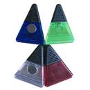 Blank Triangle-Shaped Magnetic Memo Clamp, 3