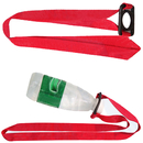 Blank Polyester Lanyard with Rectangle Bottle Holder, 3/4