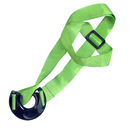 Blank Polyester Lanyard with O Ring Bottle Holder, 3/4