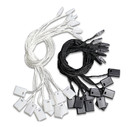 Opromo 1000PCS/Pack 7 Inches Hang Tag String Snap Lock Pin Loop Fastener Hook Ties Easy and Fast to Attach