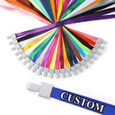 Muka Custom Lanyard, Customize with Your Text Name Pattern, Custom Lanyard for Company Event School Exhibition