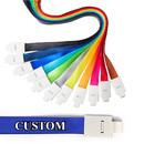 Muka Personalized Custon Lanyard ID Badge Holder,Customize Lanyard for Company Event School Exhibition
