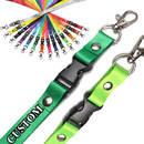 Muka Custom Lanyard with Buckle,Custom Lanyard ID Badge Holder for Company Event School Exhibition
