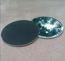 Blank Round Stainless Steel Coasters, 4
