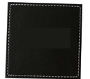 Blank Square Leather Coasters, 3.5