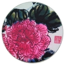 Full color Customized Round Absorbent Ceramic Coasters, 3-7/8