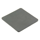 Blank Bonded Leather Coasters, 3.75
