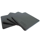 Custom Leatherette Coasters, 3.75