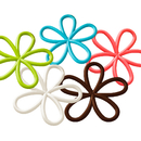 Colorful Flower Pot Mat, Drinking Cup Coaster, Non-Spills Kitchen Decoration