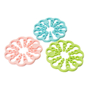 Creative Flexible Silicone Coaster, Deformable Pot Holder Mat, 2PCS/Set