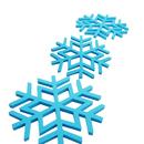 Snowflake Thicken Silicone Insulation Pad, Non Slip Flexible Durable Pot Mat