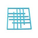 Square Thicken Silicone Insulation Pad, Non Slip Flexible Durable Pot Mat