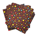Star Beverage Napkins Lunch Napkins, 2 Ply, 20 PCS/Pack, Party Decoration