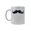 Custom 11 Oz. Handlebar Mustache Coffee Mug