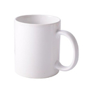 Blank 11 oz. Stoneware Mug, 3 3/4