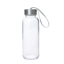 Blank Glass Water Bottle, 10 oz , Long Leadtime