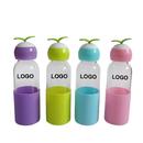 Custom Creative Glass Water Bottle, 10oz, Silkscreen