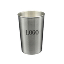 Custom 16 Oz. Stainless Steel Pint Cup, 3.45