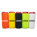 Custom 18 oz Can Koozies, Insulated Neoprene Sleeve with Carrying Loop, 7 3/10