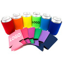 Custom 12 oz Can Koozies Neoprene Collapsible Can Cooler