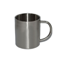 Blank 15 oz. Stainless Steel Mug, Double Wall, 3.3