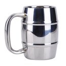 Blank 15 oz. Double Wall Stainless Steel Beer Mug, 3