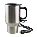 Blank Heated Stainless Steel Mug, Car Coffee Cup With Charger