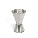 Blank Stainless Steel Double Jigger for Shot Glasses, 30 ml-50 ml