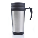 Blank 16 Oz./450 Ml. Double Wall Stainless Steel Travel Mugs, 6-3/4