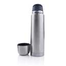 Custom 17 Oz./500 Ml. Black Band Stainless Steel Double Wall Printed Vacuum Flasks, 10