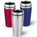 Blank 16 Oz./450 Ml. Double Wall Stainless Steel Customized Tumblers, 6-1/2