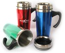 Blank 16 oz./450 Ml. Acrylic Double Wall Travel Mugs, 7