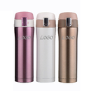 Custom Stainless Steel Double Wall Vacuum Insulated Travel Coffee Mug, 17 oz, 9 1/5