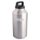 Custom 64 oz. Stainless Steel Bottle, 11 2/5