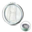 Blank Slide Lid for 20oz. 30oz. Stainless Steel Tumbler, Splash Resistant and Straw Friendly
