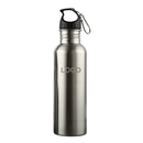 Custom 17oz Stainless Steel Wide Mouth Sports Water Bottle, Laser Engrave