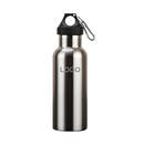 Custom 17oz Double Walled Vacuum Insulated Stainless Steel Water Bottle, Leak Proof Design, Laser Engrave