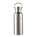 Custom 25oz. 750ml Single Walled Stainless Steel Water Bottle for Cyclists, Runners, Hikers, Laser Engrave