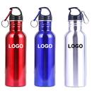 Custom 25oz Stainless Steel Wide Mouth Sports Water Bottle, Silkscreen, 10.5