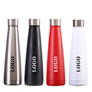 Custom 17oz Double Wall Vacuum Insulated Stainless Steel Water Bottle Cup for Camping Hiking Cycling, Silk-printing or Laser Engraved