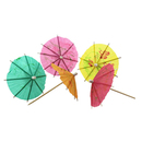 Cocktail Umbrella, Parasol Cocktail Picks, 144Pcs/Pack, Various Colors