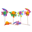Cocktail Picks, Tropical Fish Shape, 10Pcs/Pack, Party Favors
