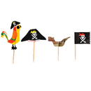 Pirate Series Cocktail Picks, Cupcake Toppers, Party Decoration, 20Pcs/Pack
