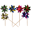 Foil Pinwheel Party Picks Cocktail Picks, Party Decoration, Assorted Colors, 10Pcs/Pack